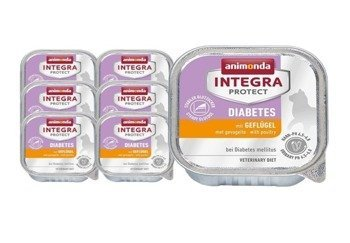 Animonda Integra Protect Diabetes Kurczak 16x100 g