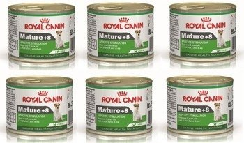 royal canin mature +8 6x195 g