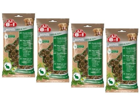 8in1 przysmak minis rabbit and herbs 4x100 g