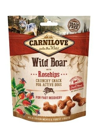 Carnilove crunchy snack wild boar with rosehips with fresh meat 200 g