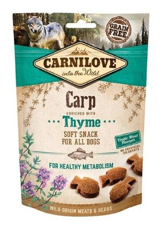 Carnilove semi moist snack carp enriched with thyme 200 g