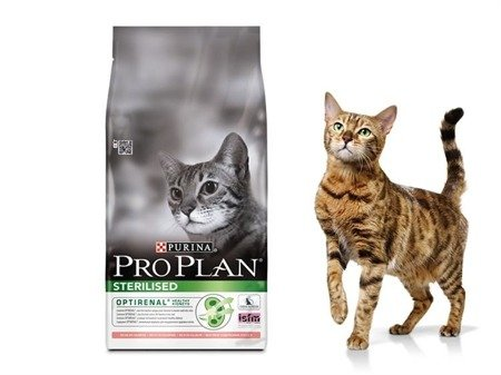 purina karma dla kotów pro plan optirenal sterilised łosoś 10 kg