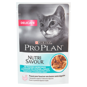 Purina Pro Plan Cat NutriSavour DeliCate o smaku ryby 85 g