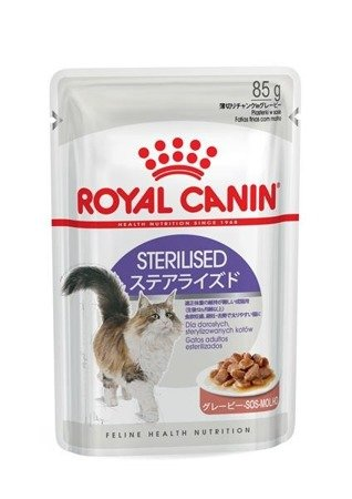 royal canin sterilised w sosie 85 g