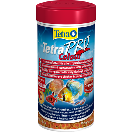 Tetra pokarm dla ryb pro colour crisps 100 ml