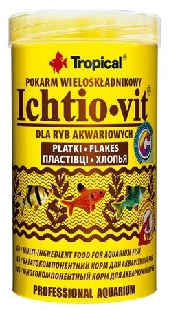 Tropical ichtio-vit pokarm dla ryb 250 ml